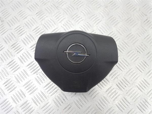 Подушка безопасности водителя opel astra h