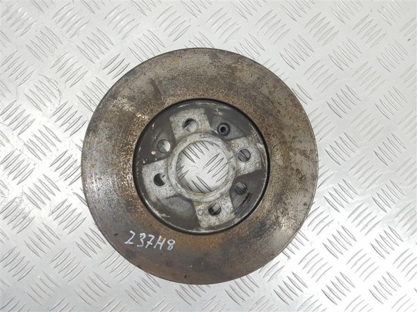 Диск тормозной передний opel astra h