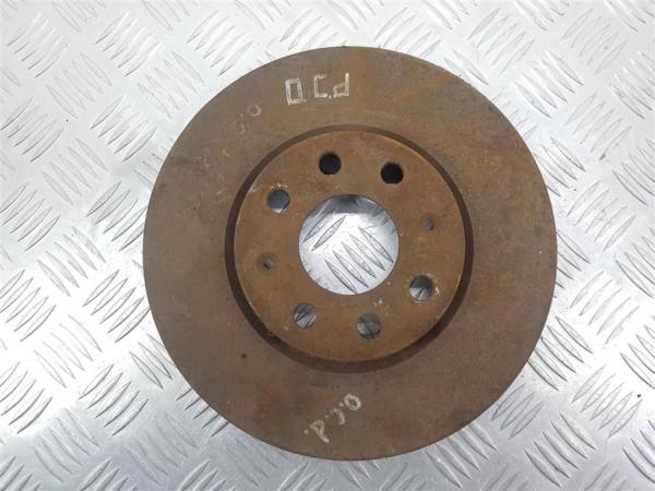 Диск тормозной передний opel corsa d