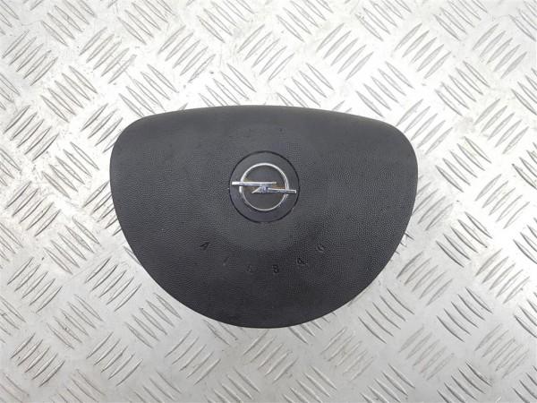 Подушка безопасности водителя opel corsa c