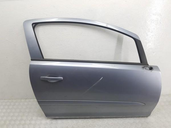 Дверь передняя правая opel corsa d