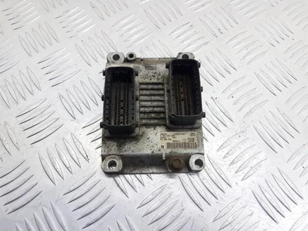 Блок управления двигателем opel agila a