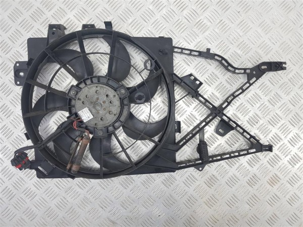 Вентилятор радиатора opel vectra b