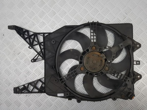 Вентилятор радиатора opel corsa d